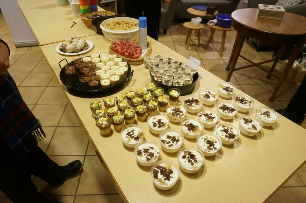 Grosses Dessertbuffet