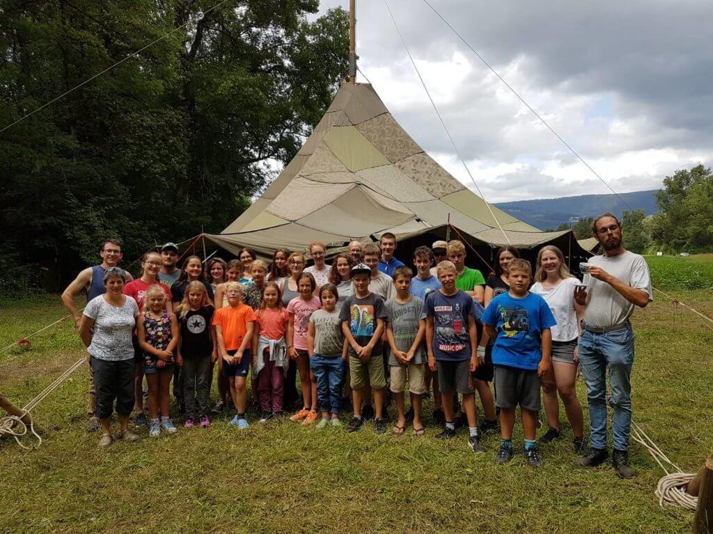 Jungschi Zofingen SoLa 2019 Gruppenfoto