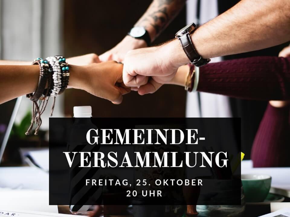 20191025_Gemeindeversammlung