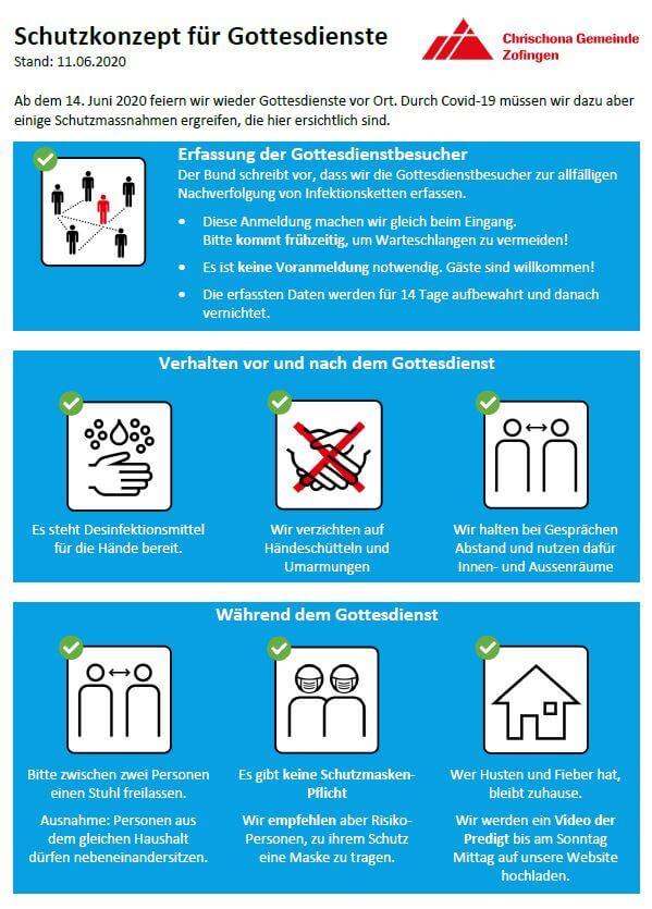 Schutzkonzept für Gottesdienste