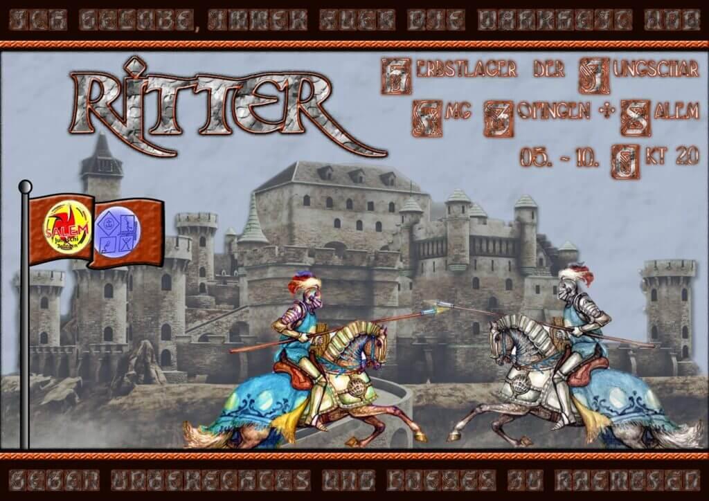 Jungschi Herbstlager 2020 Ritter