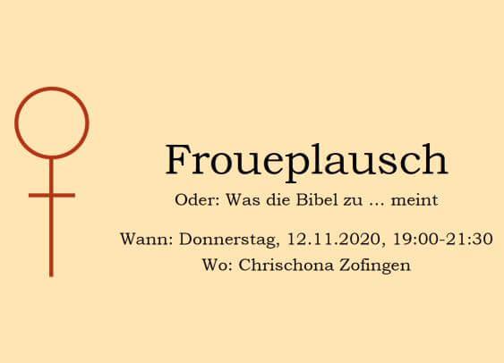 Froueplausch